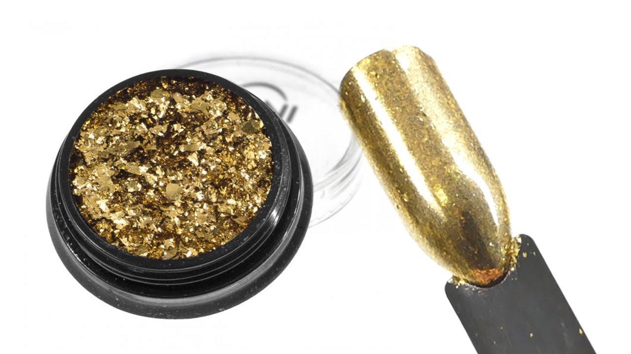 Nani Lestici Pigment Chromatic Gold 4 By Naninails Cz
