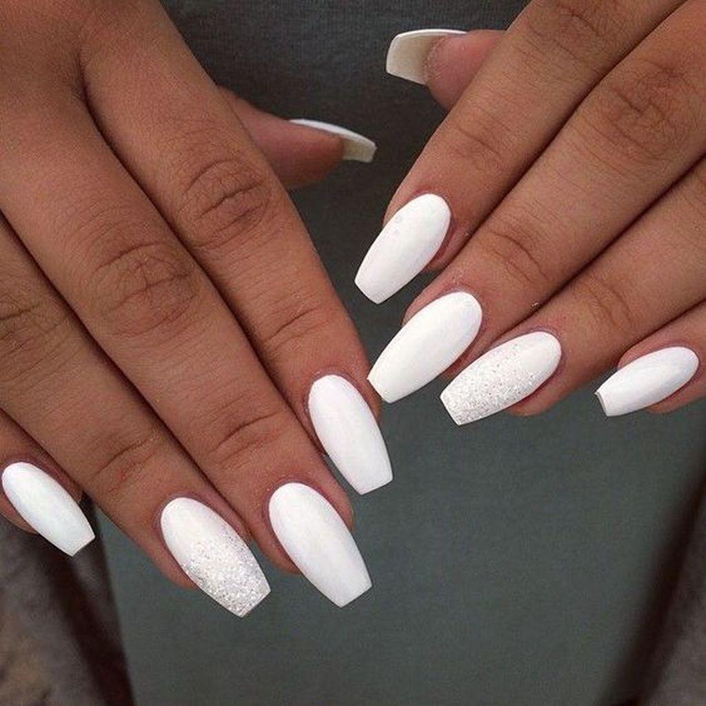 25 Precise Nails Art Design For Plus Size Women Umele Nehty Gelove Nehty Bile Nehty