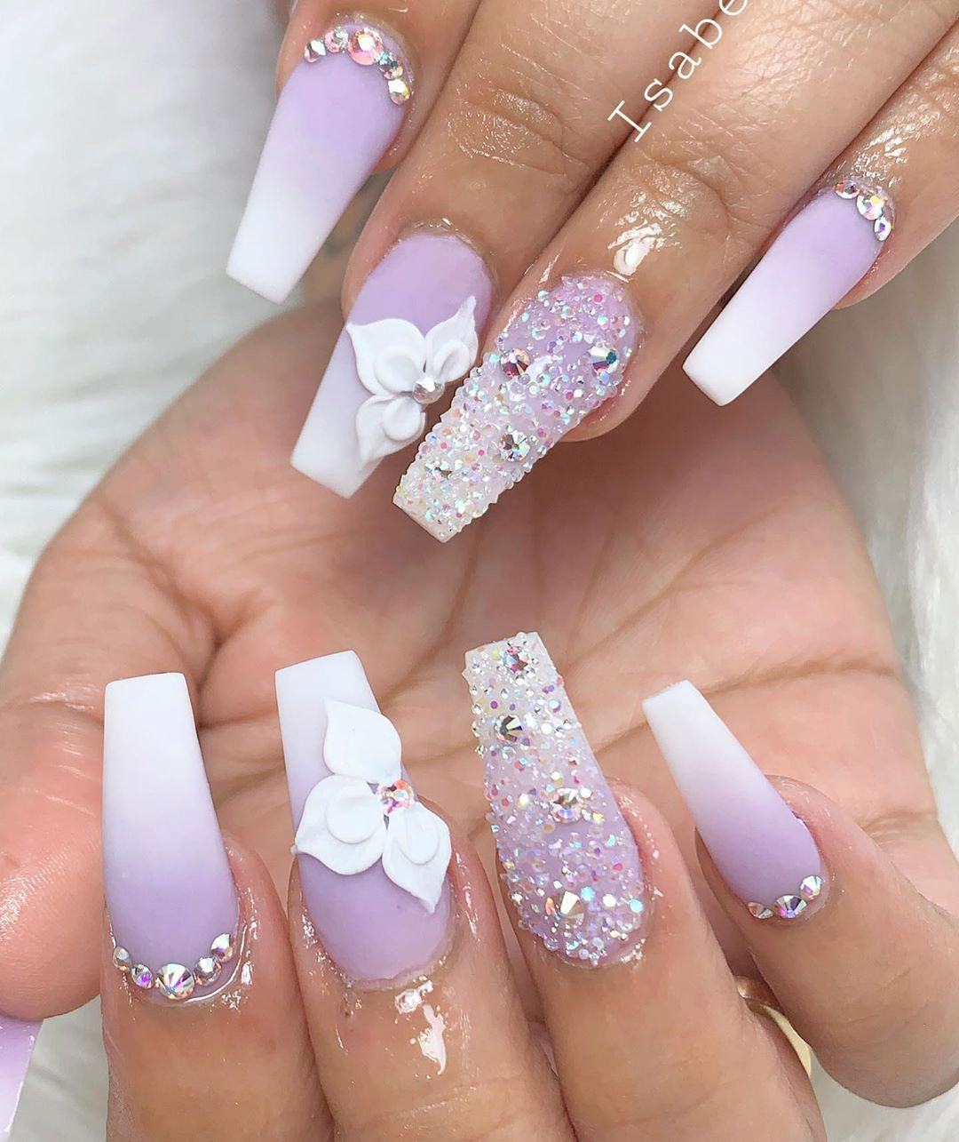 Best Summer Ombre Nails In 2019 Pink Ombre Nails Nails Design With Rhinestones Ombre Acrylic Nails