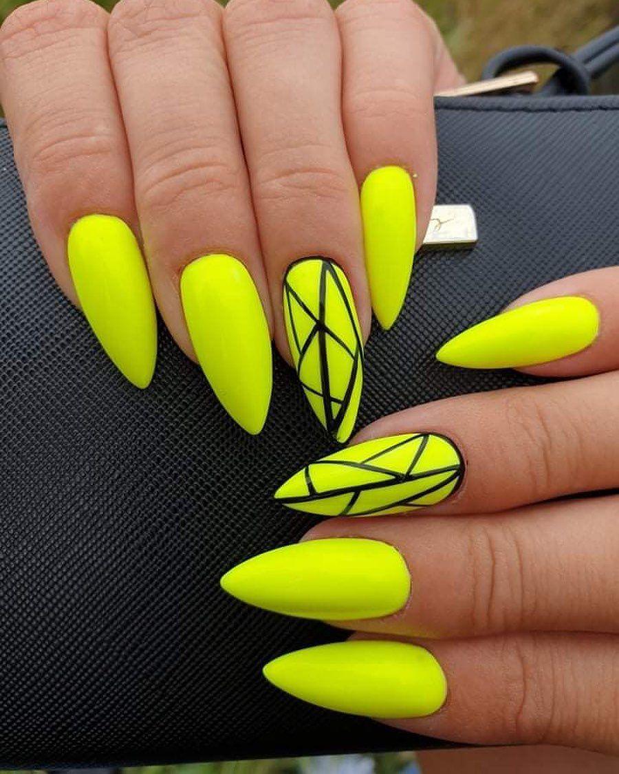 Best Nails For Summer 2019 Barevne Nehty Gelove Nehty Nehty