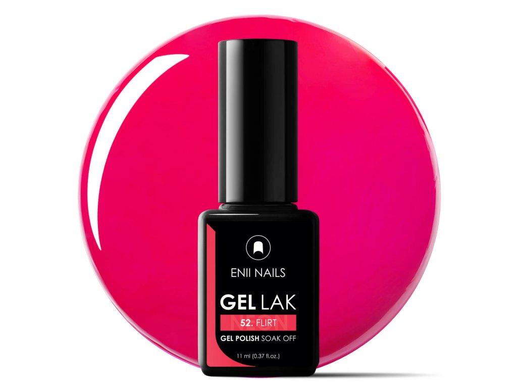 Gel Lak 52 Flirt Neon 11 Ml Enii Nails