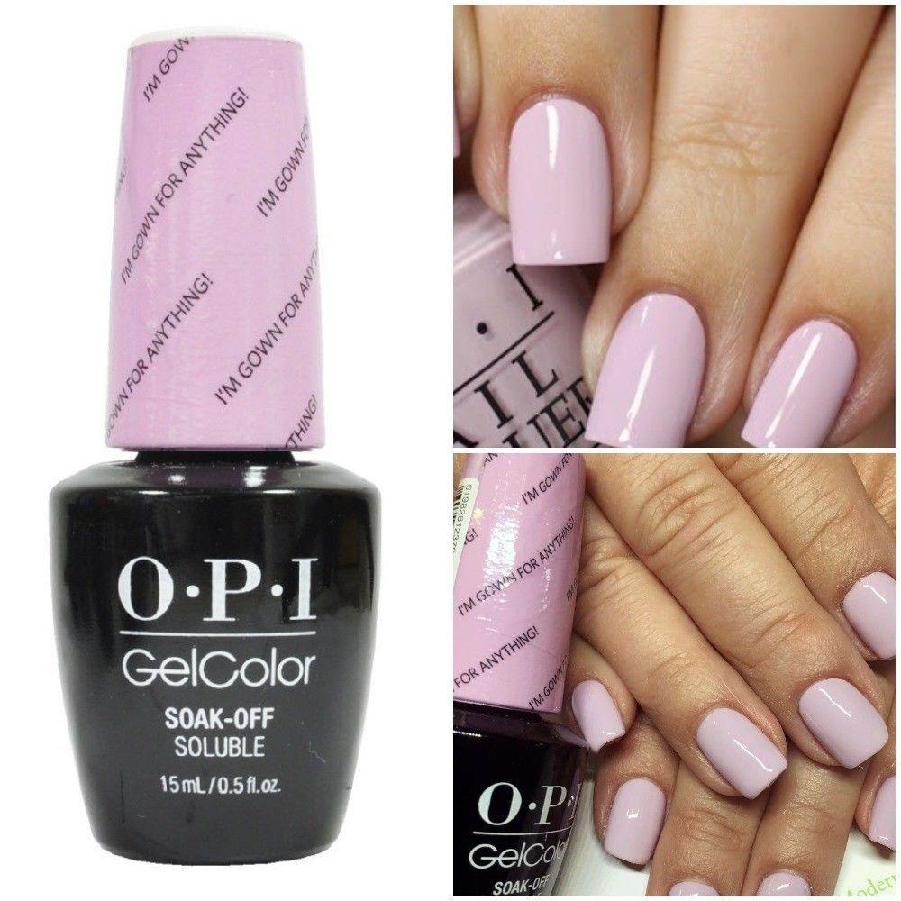 New Opi Gelcolor Soak Off Uv Led Gel Nail Polish 100 Authentic 0 5oz You Choose Nail Polish Opi Gel Polish Opi Gel Nail Polish