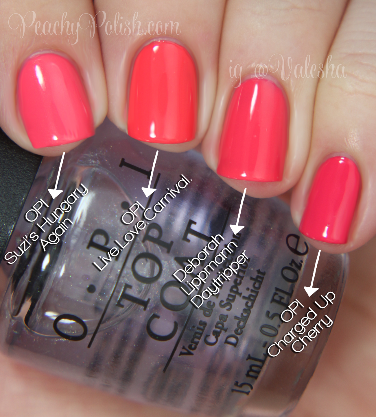 Opi Brazil Collection Comparisons Opi Gel Nails Opi Nail Polish Colors Opi Nail Colors