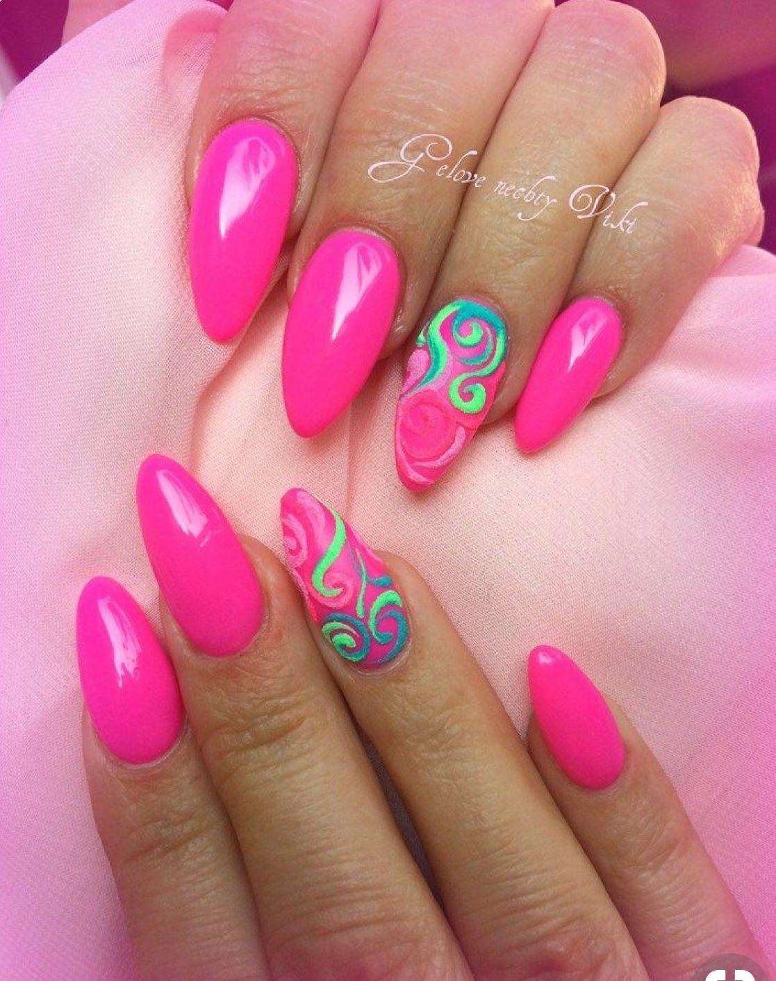 Pin By Jarmila Mikusova On Color Nails Nechtovy Dizajn Neonove Nechty Napady Na Nechty