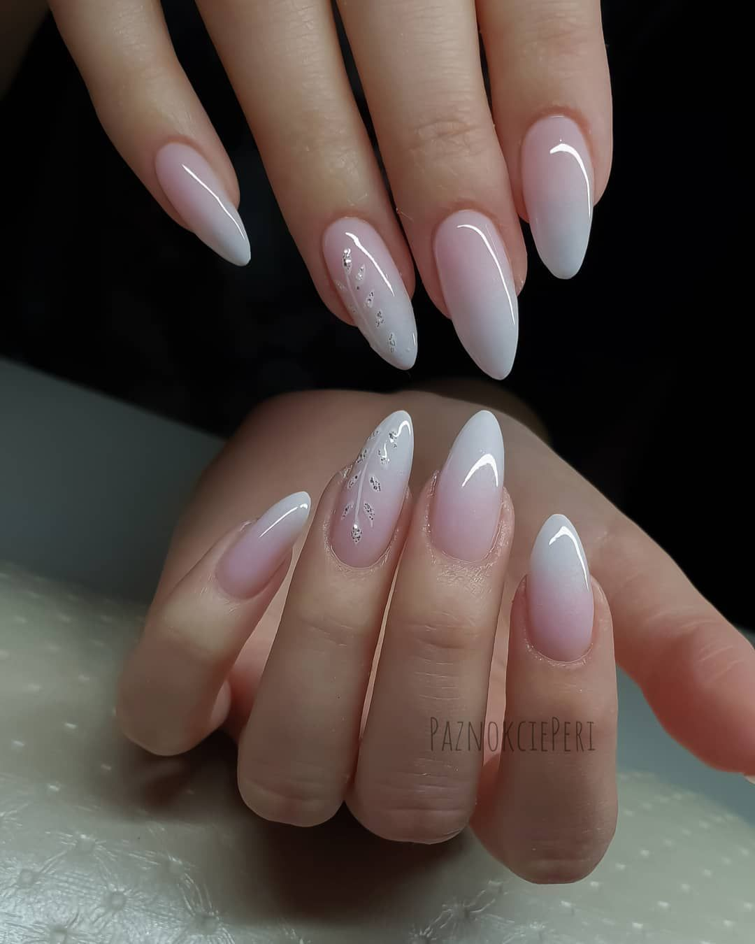 On Average Every Second Nails Blondhair29 Is Babyboomer What Will I Do To Your Wedding Paznokciehybryd Nails Babyb Design Nehtu Bile Nehty A Gelove Nehty