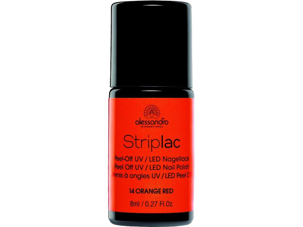 Striplac 114 Orange Red 8 Ml Alessandro