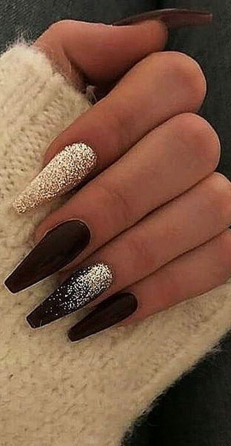 Pin By Any Kovandova On Nails In 2020 Gelove Nehty Matne Nehty Design Nehtu