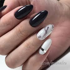 Bílo černé Nehty