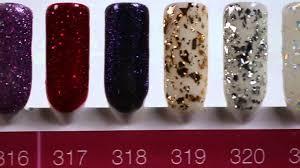 Crystal Nails Gél Lakk Színek
