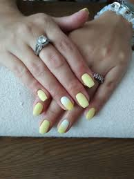 Gelové Nehty žluté