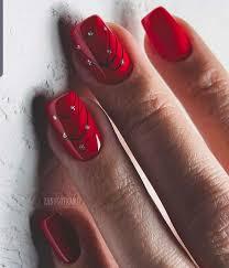 Gelove Nechty červené Nehty