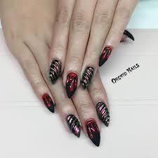 Halloweenské Nehty