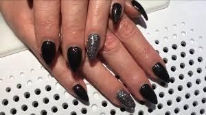 Nail Gelové Nehty černé