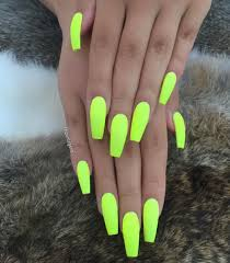 Neonové Gelové Nehty