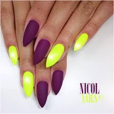 Neonové Nehty Letní